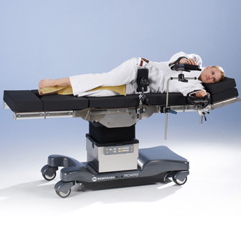 Operating table Promerix positioning