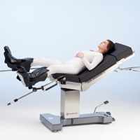 operating table practico manual patient positioning