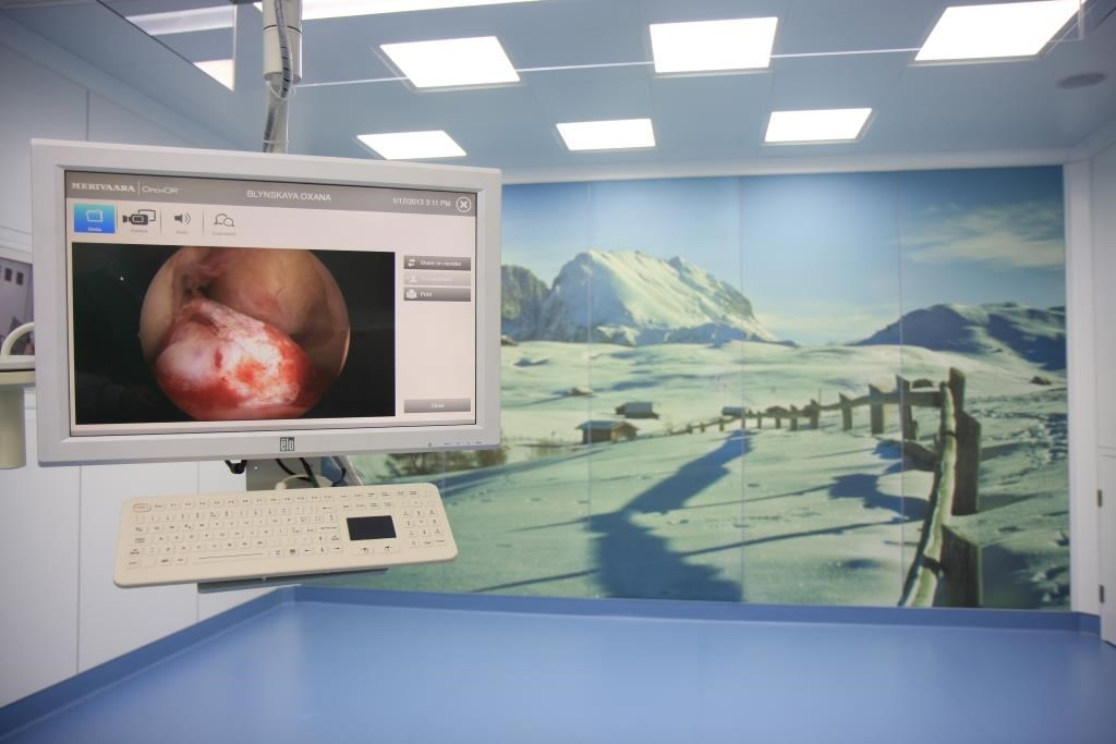 OpenOR integrateS operating theatre functions